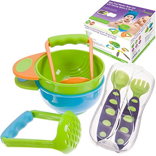 Amazon Deal: BabieB Mash and Serve Bowl Set to Make Homemade Baby Food Only $10.00 (Reg.$28.00)