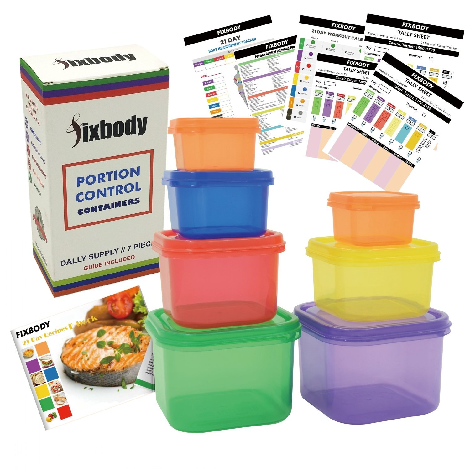 Amazon Deal – 7 Piece 21 Day Portion Control Weight Loss System Only $5.50 (Reg $19.99)