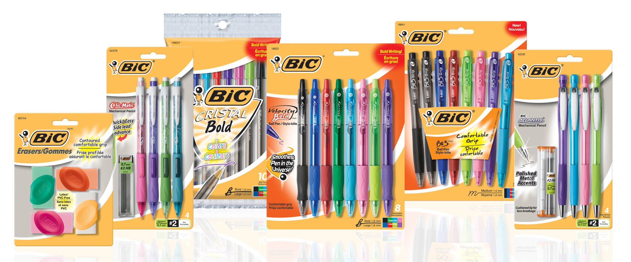 New Coupon – Save $1.50 on any TWO (2) BIC Stationery products