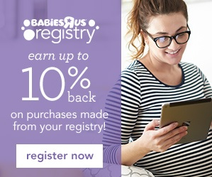 """Earn Cash Back When You Register With Babies """"R"""" Us"""