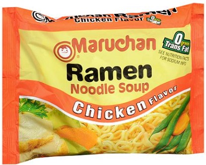 Save $0.50 cents on any TEN (10) Maruchan Pillow Pack Ramen