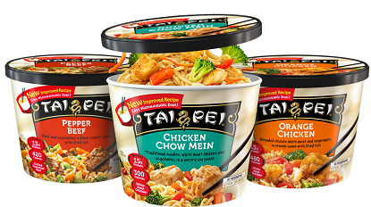Save $1.00 on ANY TWO (2) Tai Pei Entrées or Appetizers