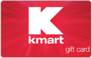 Kmart Gift Card – Get a $100 Kmart Gift Card for only $90