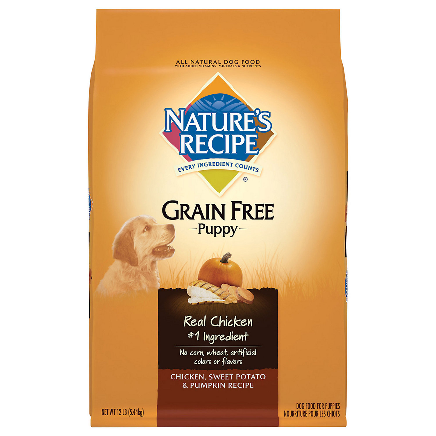 Save $9/1 24 lb bag or larger of Nature's Recipe dry Dog Food