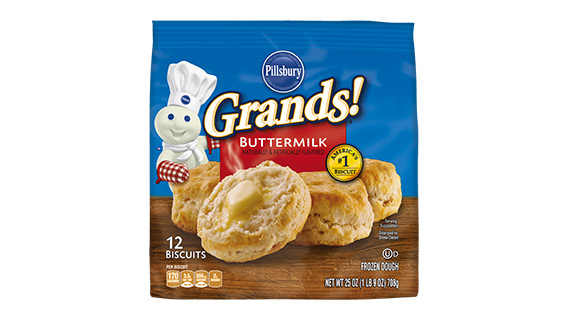 *Rare* $0.75/1 any size/variety Pillsbury Frozen Grands! Biscuits