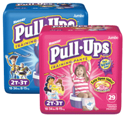 Pull-Ups Training Pants, Goodnites Bedtime Pants