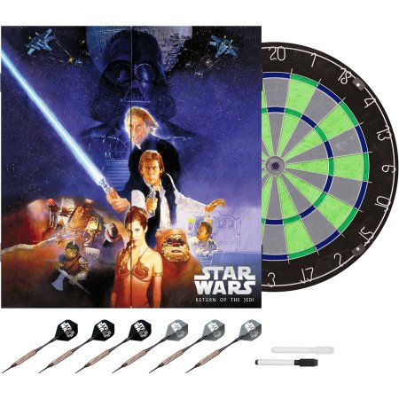 Limited Edition Star Wars The Return of the Jedi Bristle Dartboard with Cabinet Only $21.97 (Was $62.00) Plus FREE Shipping!
