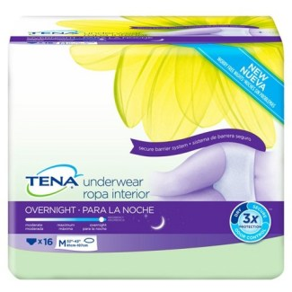 TENA Overnight Underwear product