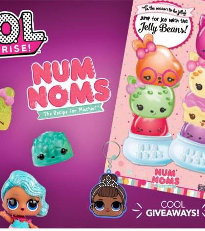 Free LOL Surprise Num Noms Event Toys R Us