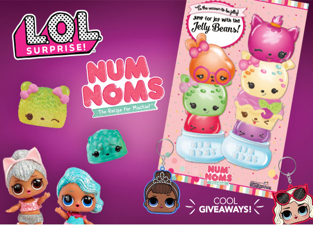 Free LOL Surprise Num Noms Event Toys R Us