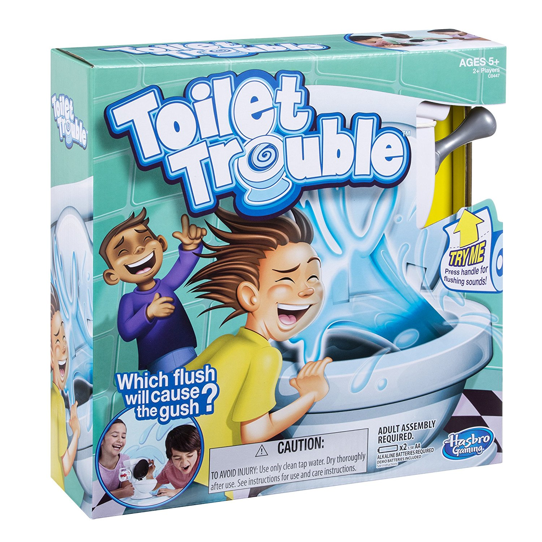 Amazon – Hasbro Games Toilet Trouble Only $10.99 (Reg $21.99)