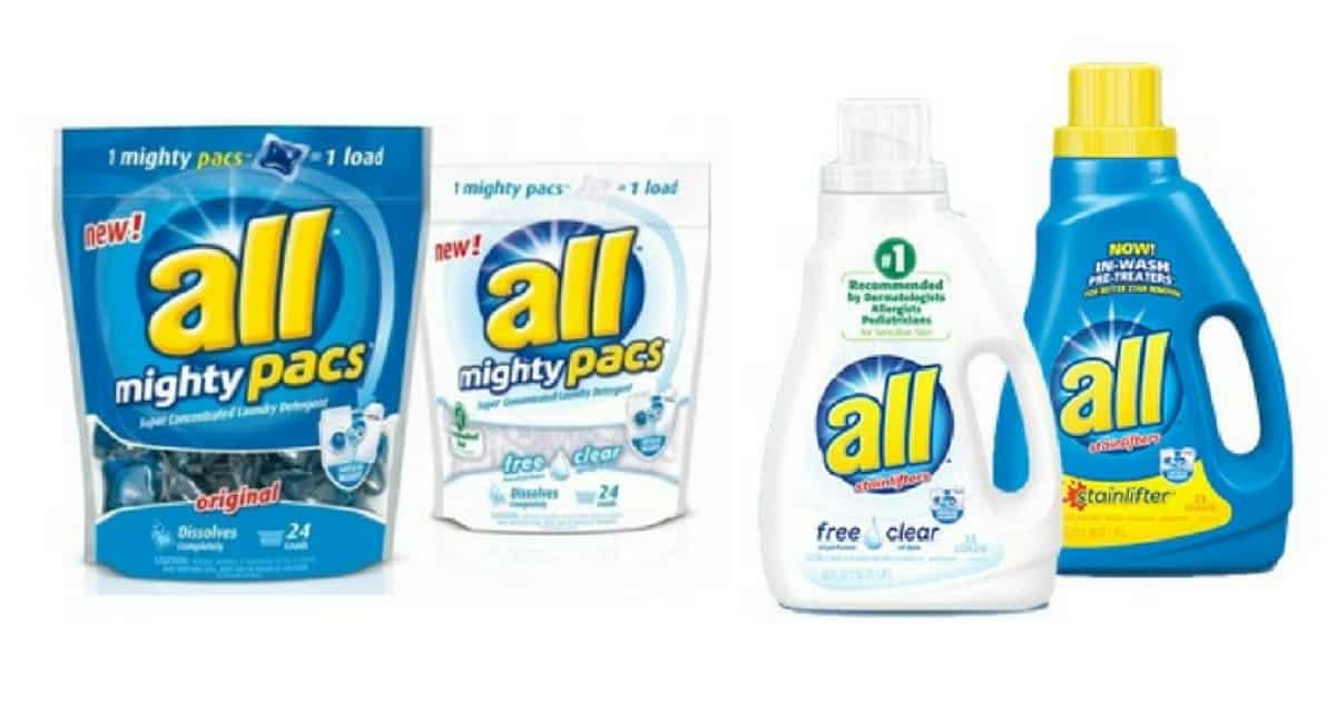 All Detergent Only $0.49 at Walgreens