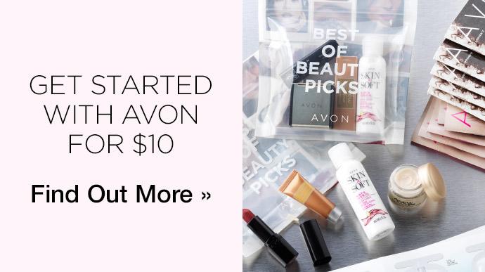 *HURRY* $10 Avon Starter Kit – LIMITED TIME OFFER