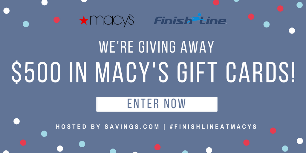 *HURRY* Enter The #FinishLineAtMacys Giveaway