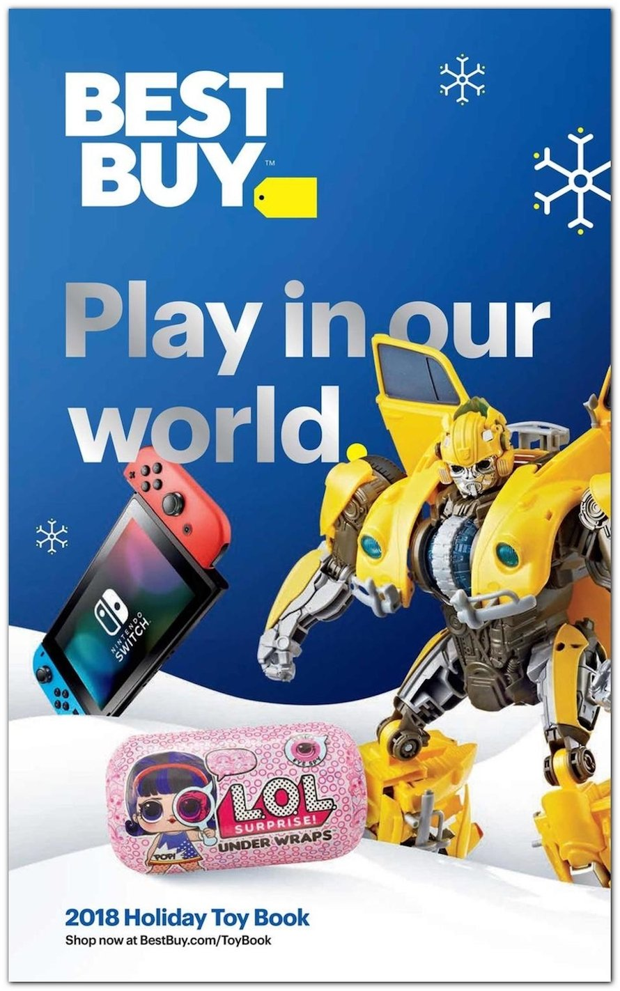 The 2018 Best Buy Holiday Toy Book Is Available