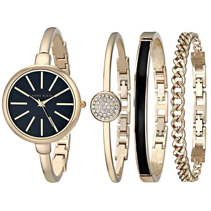 Anne Klein Women's Bangle Watch and Bracelet Set Only $49.00 (Reg.$124.95) Plus Free Shipping