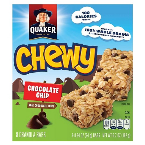 Save $1.00 on any TWO (2) boxes of Quaker Chewy Granola Bars