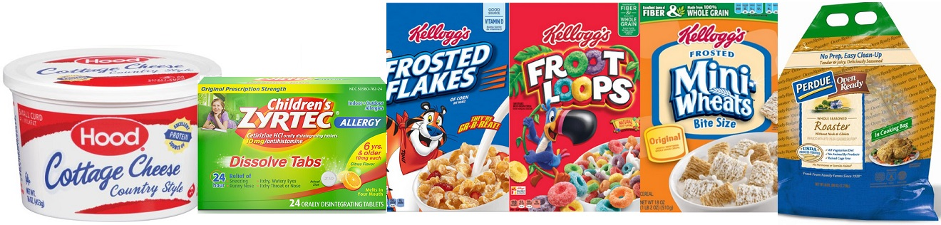 New Coupons – Including Kellogg's, Perdue, Hood & More!