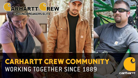 Free Carhartt Crew Community Product Testing