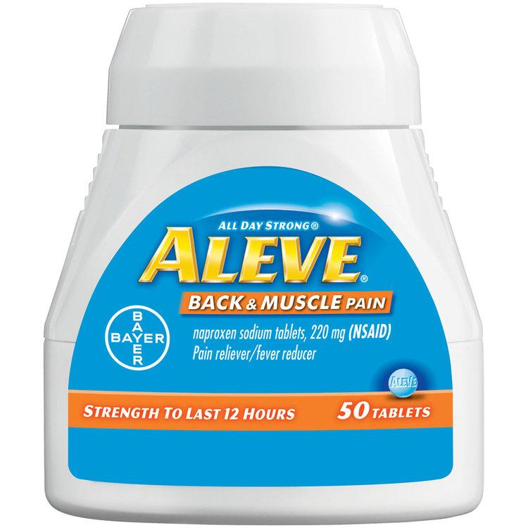 FREE Aleve Back & Muscle Pain Tablets at CVS