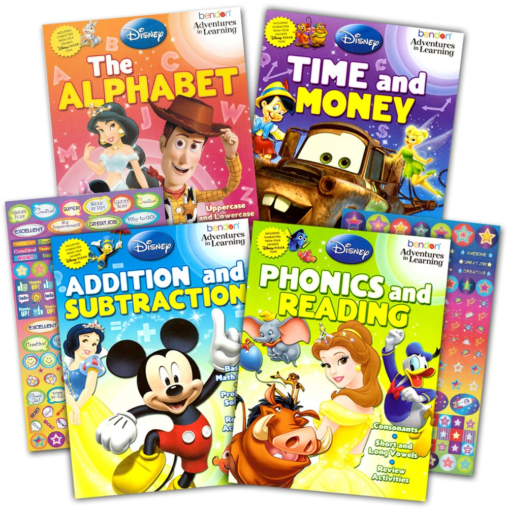 Amazon Deal – Disney Workbook Super Set Only $12.95