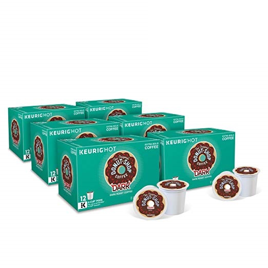 The Original Donut Shop K-Cups 72-Pack $23.91on Amazon