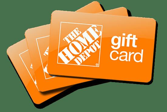Win $2,500 Home Depot Gift Card