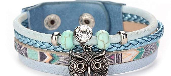 Multilayer Leather Braided Handmade Bracelet ONLY $4 Shipped