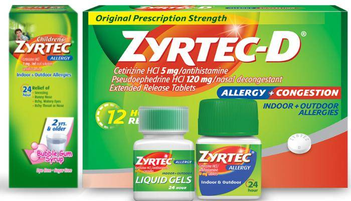 Zyrtec Coupons – Save Up To $15