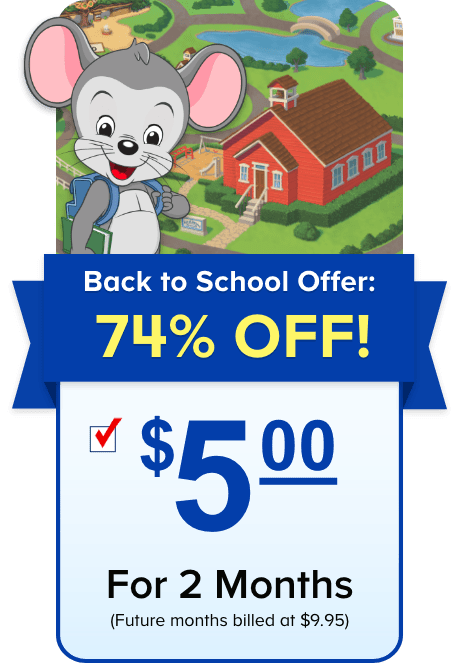 *HOT DEAL* ABC Mouse Only $5 For 2 Months (Award Winning Curriculum)