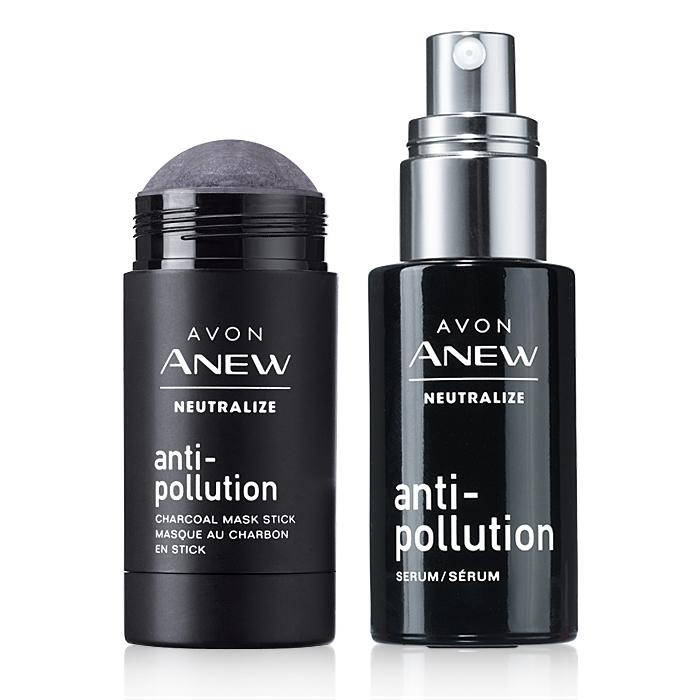 FREE Anew Neutralize Anti-Pollution Charcoal Pore Strips With The Purchase Of Anew Neutralize Serum & Mask Stick Duo – Plus FREE SHIPPING!