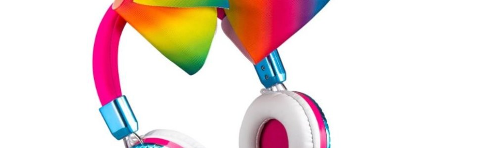 JoJo Siwa Bow Fashion Headphones with built in Microphone Only $19.99 (Was $29.99)