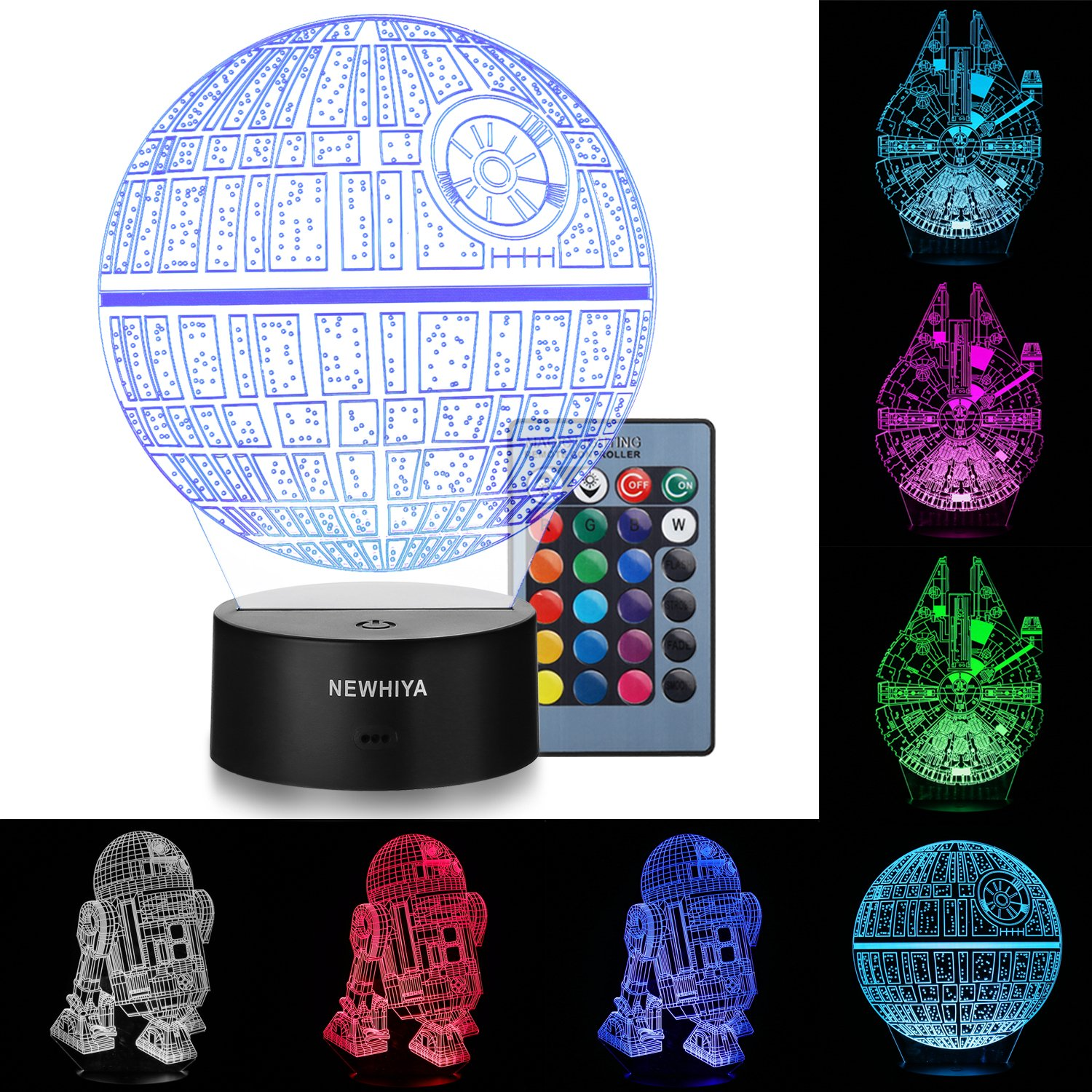 *HOT DEAL* Star Wars 3D Color Changing Illusion Lamp Only $19.99 (Was $79.99)