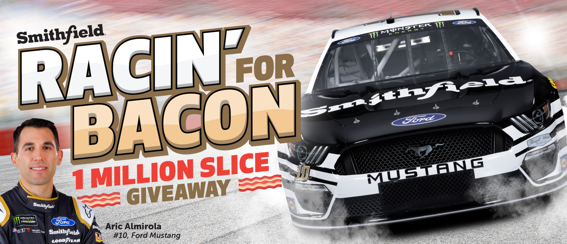 Win 100,000 Slices of Bacon or $43,688 Cash