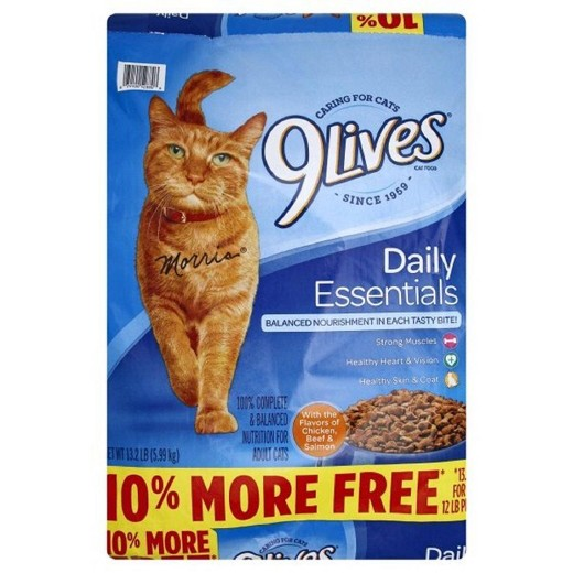 Print This New 9Lives Dry Cat Food Coupon – Save $1.25/1