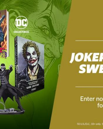 Win a Joker's Jackpot of Swag ($330 Value)