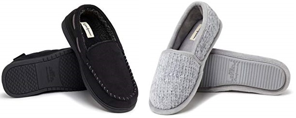 Save up to 55% on Dearfoams slippers