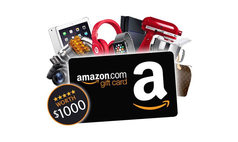 Win a $1,000 Amazon Gift Card