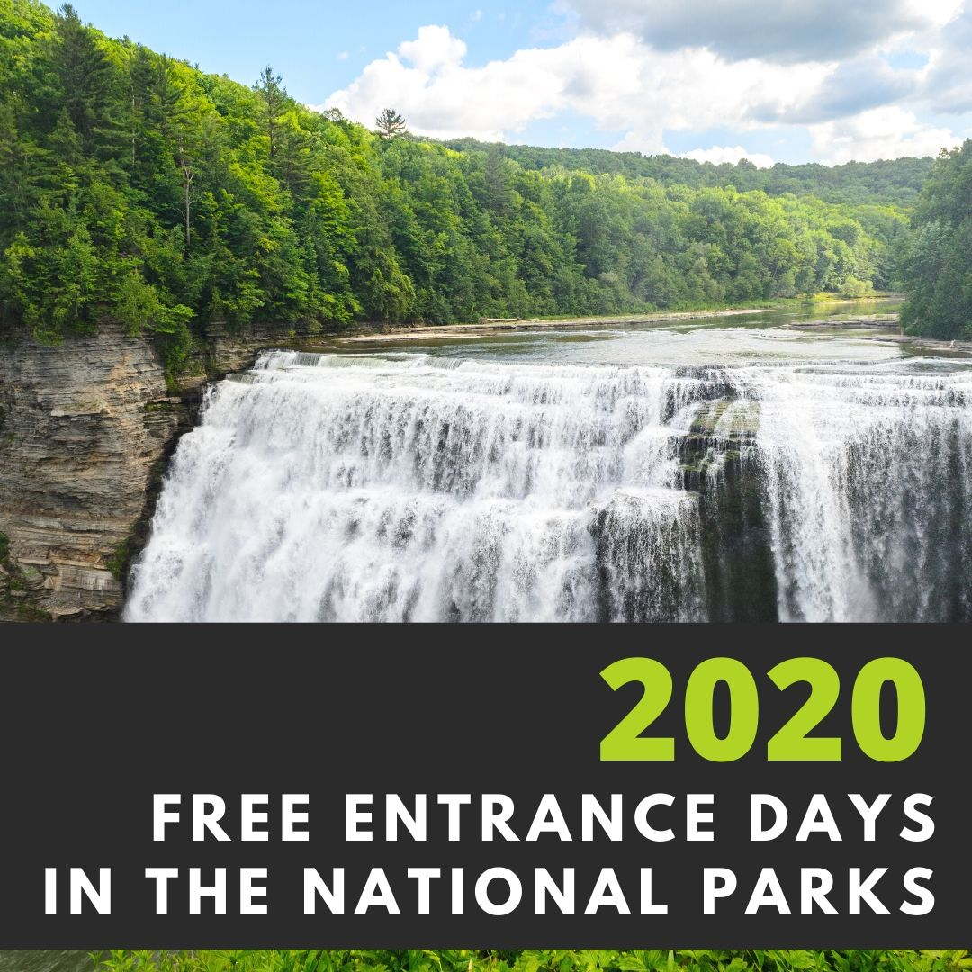 Free 2020 National Parks Entrance Days