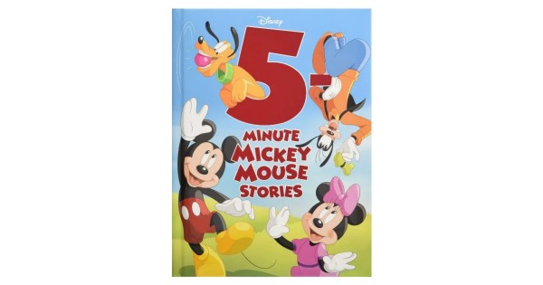 5-Minute Mickey Mouse Stories Hardcover ONLY $4.33 (Reg $13)