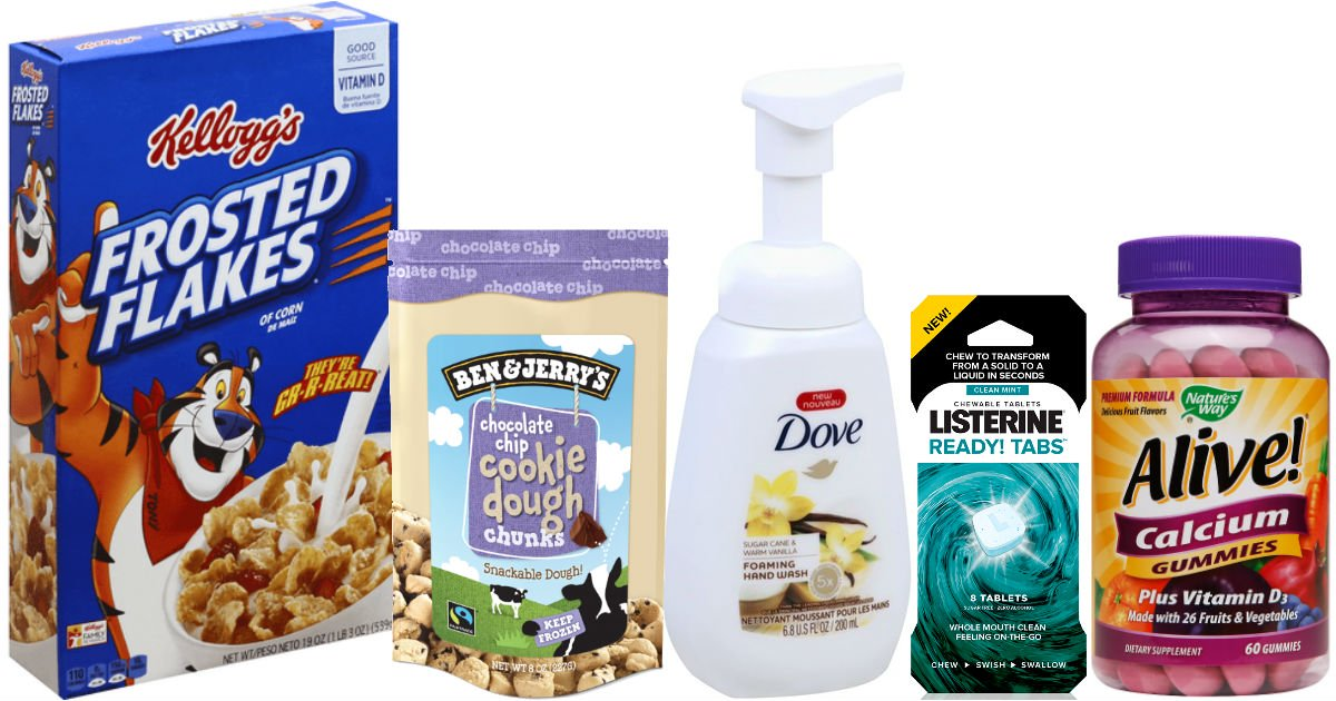 Over $36 in New Coupons to Print – Lots of Favorite Brands