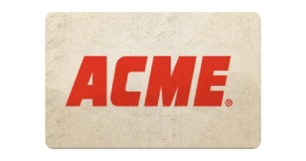 Win $2,600 in ACME Gift Cards