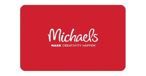 Win a $350 Michaels Gift Card
