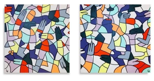 Win a $8,500 Set of Original Lucas Beaufort Paintings