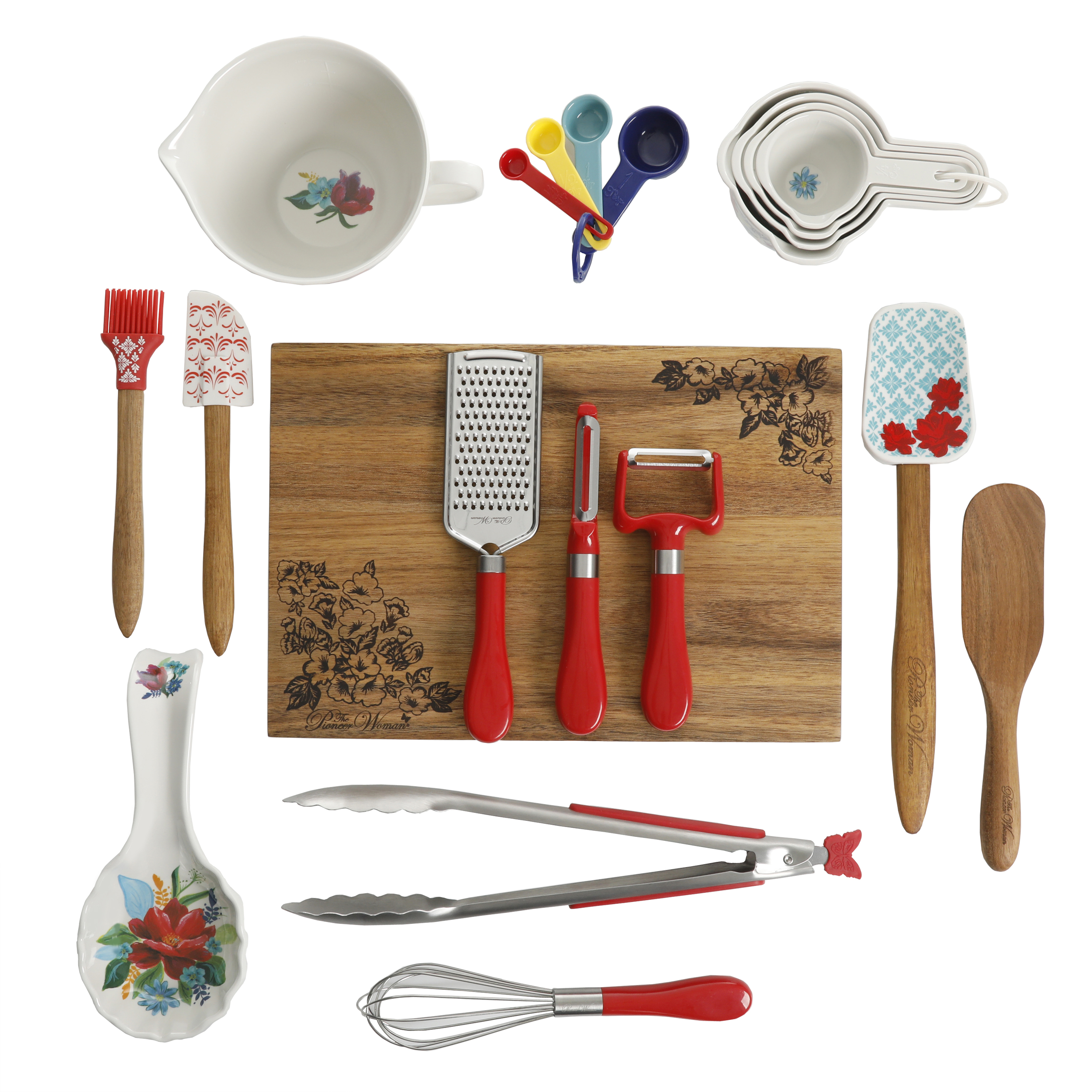 Pioneer Woman Spring Bouquet 20-Piece Gadget Set Only $19.99 Was $39.99