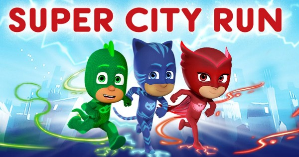 Free PJ Masks: Super City Run App