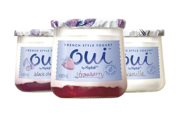 Save $1/4 Oui By Yoplait French-Style Yogurt