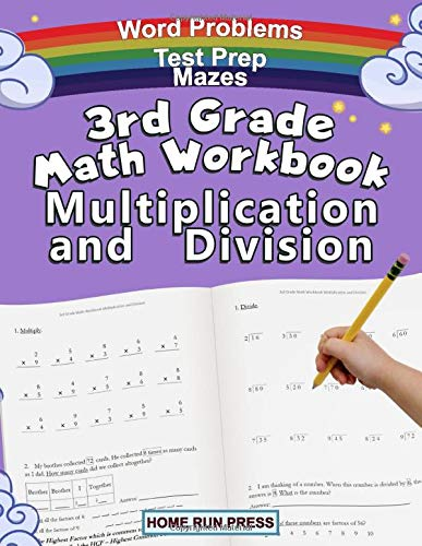 3rd – 4th Grade Math Multiplication and Division Workbook Only $5.95