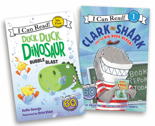Join the I Can Read Book Club & Get 2 Beginning Reader Books for ONLY $1 Shipped