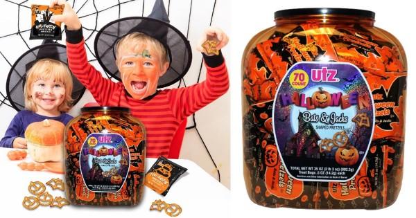 Utz Halloween Pretzel Barrel ONLY $3.99 (Reg $8)